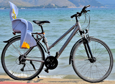 Fahrrad-Kindersitz ausleihen auf Mallorca